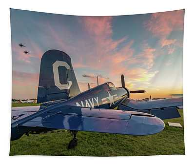 Corsair Sunset Tapestry