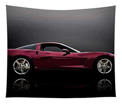 Corvette Reflections Tapestry