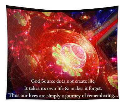 Cosmic Inspiration God Source 2 Tapestry