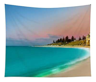 Cottesloe Beach Sunset Tapestry