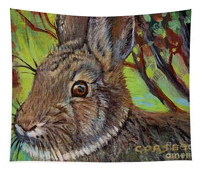 Cotton Tail Rabbit Tapestry