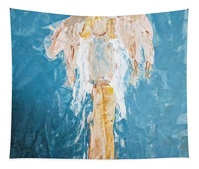 Country Angel Tapestry