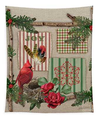 Country Christmas-jp3172 Tapestry