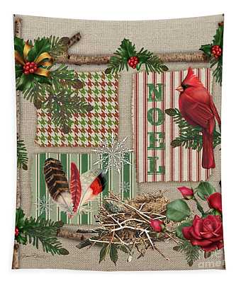 Country Christmas-jp3173 Tapestry