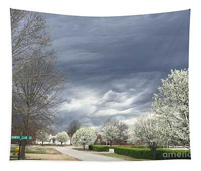 Country Club Circle Tapestry