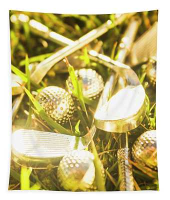 Country Golf Tapestry