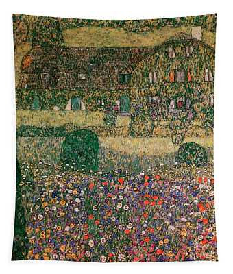 Country House By The Attersee Tapestry