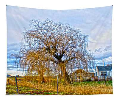 Country Life Artististic Rendering Tapestry