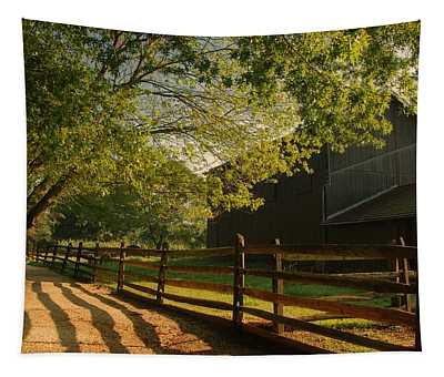 Country Morning - Holmdel Park Tapestry
