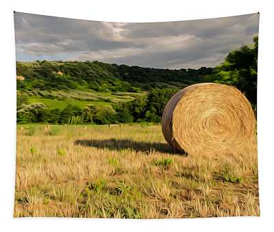 Countryside Of Italy 3 Tapestry by Andrea Mazzocchetti