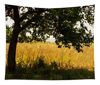 Countryside Of Italy  Tapestry by Andrea Mazzocchetti