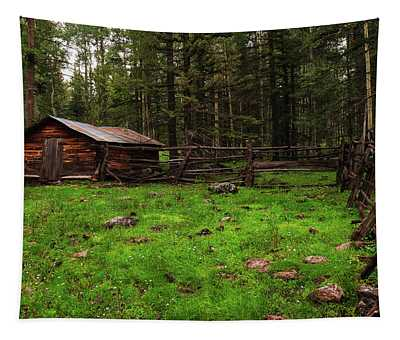 Cowboy Camp Tapestry