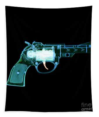 Cowboy Gun 001 Tapestry