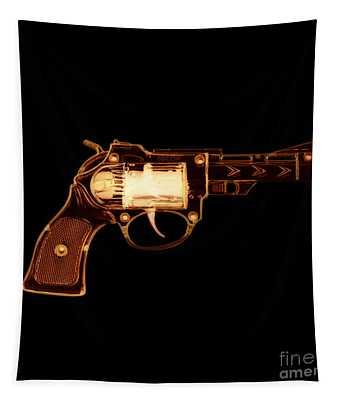 Cowboy Gun 002 Tapestry