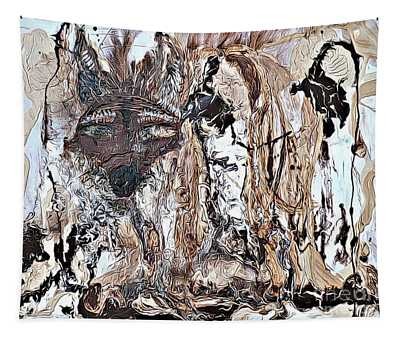 Coyote The Trickster Tapestry
