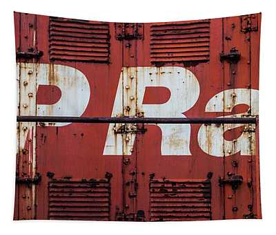 Tapestry featuring the photograph Cp Rail by Miles Whittingham