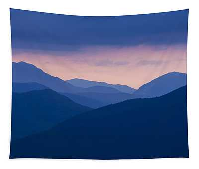 Crawford Notch Silhouette Tapestry