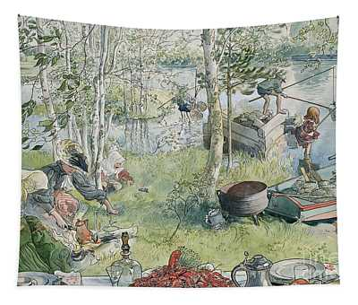 Crayfishing Tapestry