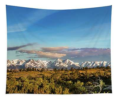 Crazy Mountains Tapestry