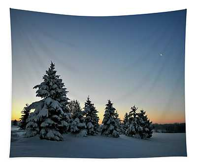 Crescent Dawn Tapestry