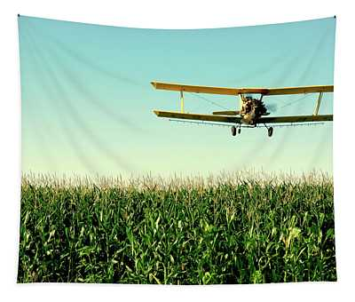 Crops Dusted Tapestry