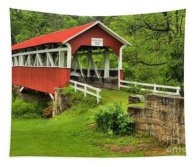 Crossing Laurel Hill Creek Tapestry