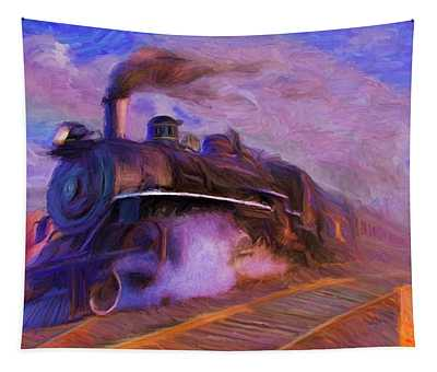 Crossing Rails Tapestry