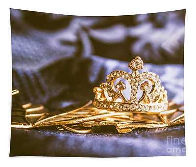 Crowned Tiara Jewellery Tapestry