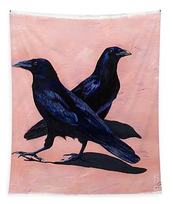 Crows Tapestry