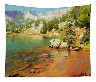 Crystalline Waters Tapestry