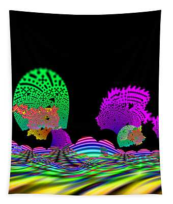 Cubistrain Tapestry
