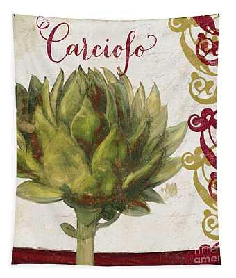Cucina Italiana Artichoke Tapestry