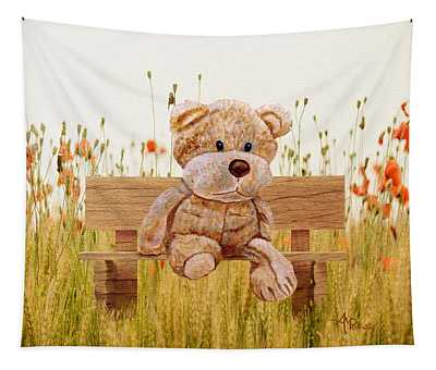 Cuddly In The Garden Tapestry