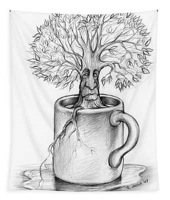 Cup-o-tree Tapestry