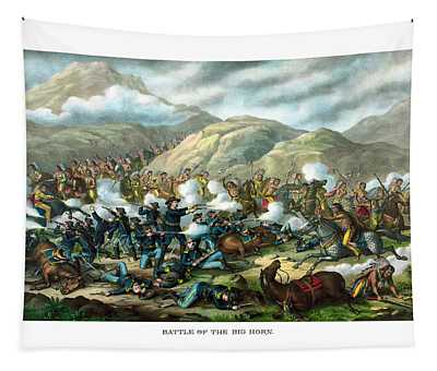 Custer's Last Stand Tapestry