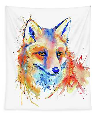 Cute Foxy Lady Tapestry