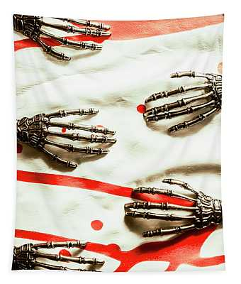 Cyborg Death Squad Tapestry
