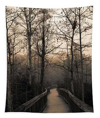 Cypress Boardwalk Tapestry