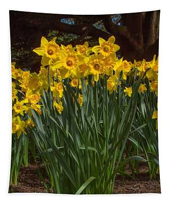 Daffodils Standing Tall Tapestry