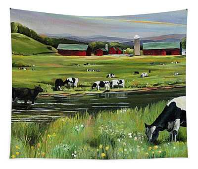 Dairy Farm Dream Tapestry