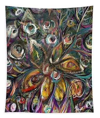 Daisy Eyes Tapestry