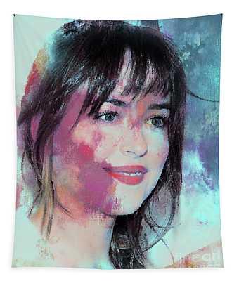Dakota Johnson 45r Tapestry