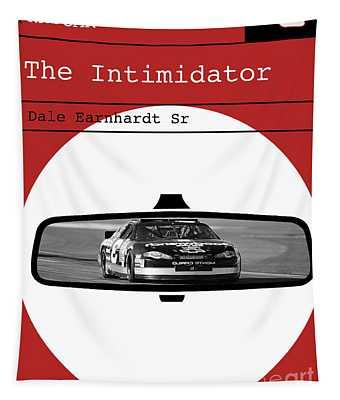 Dale Earnhardt Sr., The Intimidator, Nascar, Minimalist Poster Art Tapestry