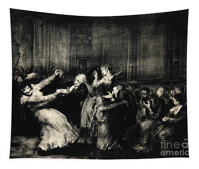 Dance In A Madhouse Tapestry