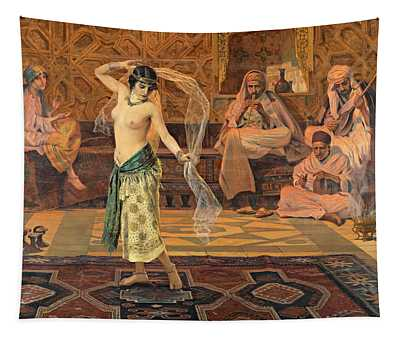 Dance Of The Seven Veils Tapestry