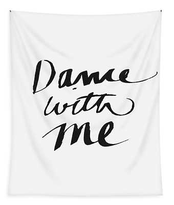Dance With Me- Art By Linda Woods Tapestry