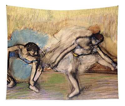 Dancers At Rest Tapestry
