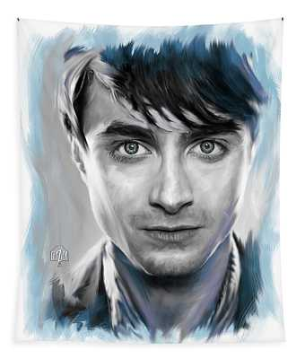 Daniel Radcliffe As Harry Potter Tapestry