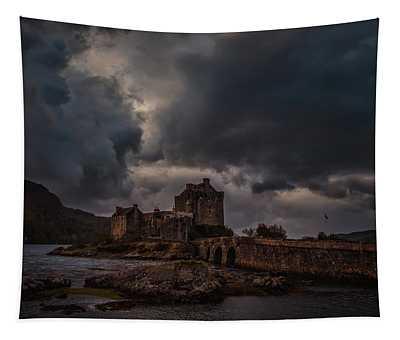 Dark Clouds #h2 Tapestry