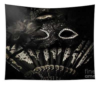 Dark Night Carnival Affair Tapestry